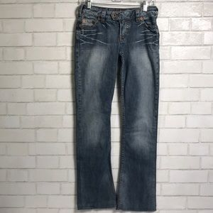 Silver Jeans Tuesday 20 Straight 27 Distressed